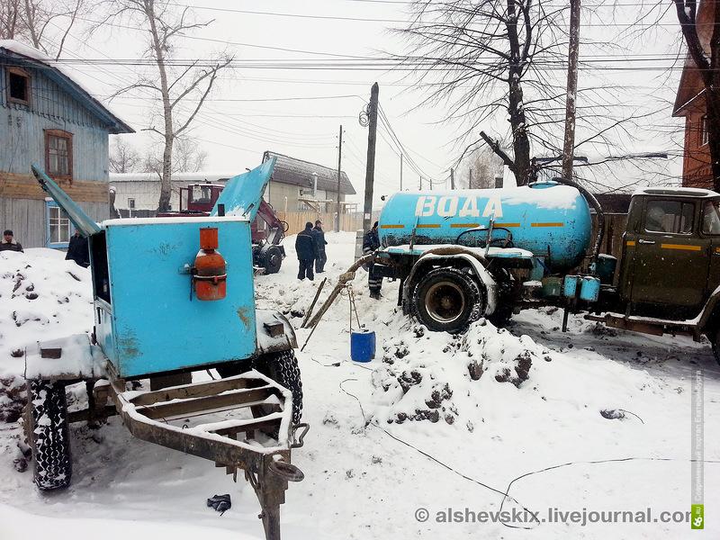 Жителям Алапаевска вернули воду