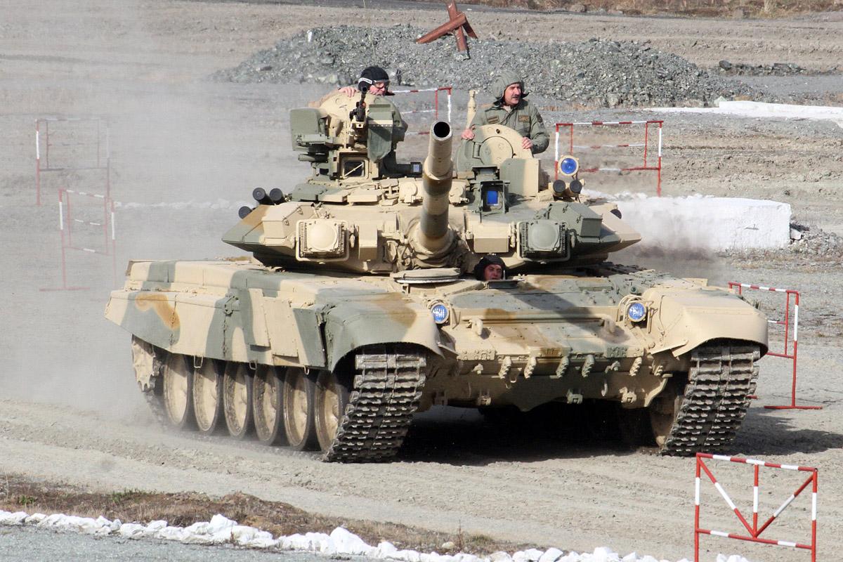 Перу может купить у Уралвагонзавода более 150 танков Т-90С