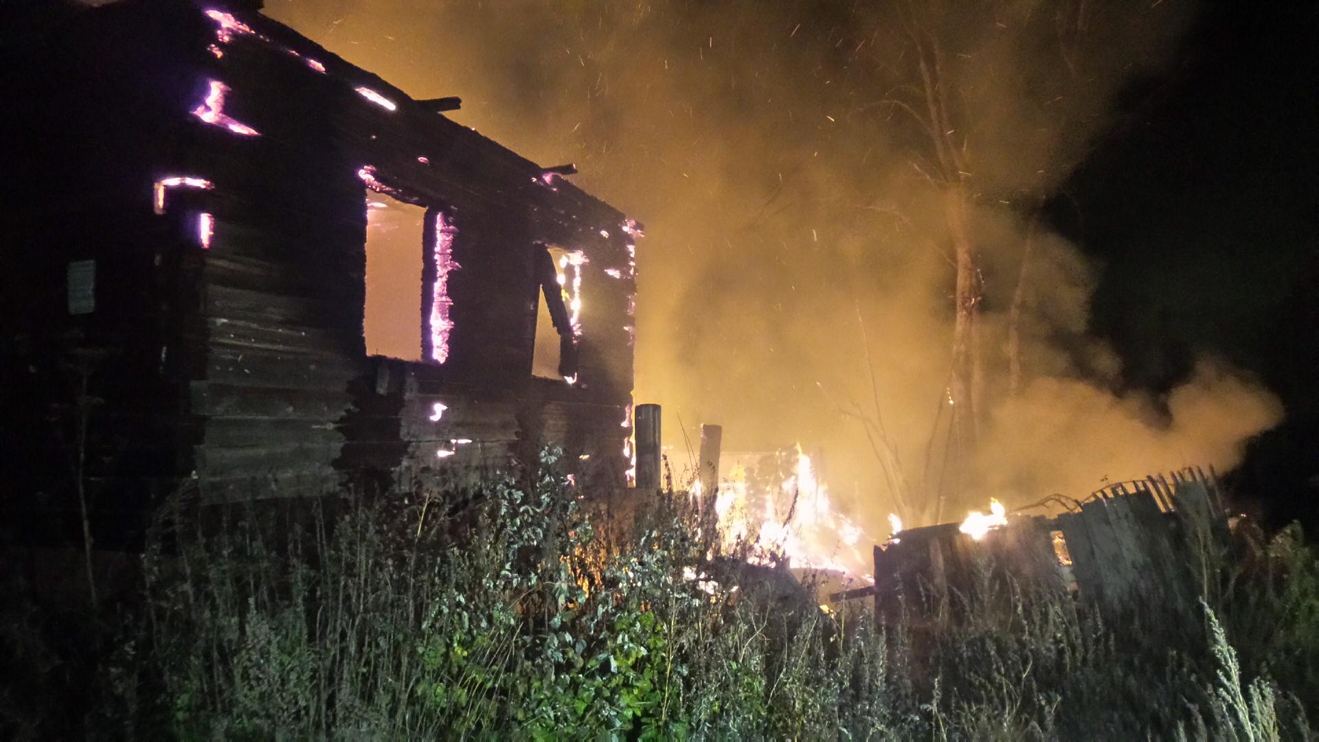 На Кутузова в заброшенном доме сгорел человек