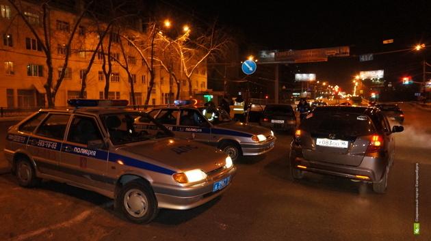 В ГИБДД прокомментировали скандал с «живым щитом» из машин