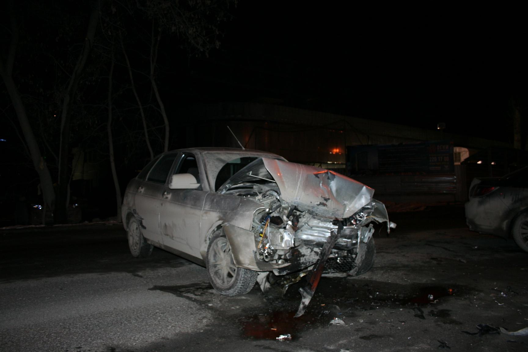 На Большакова пьяный водитель спровоцировал аварию