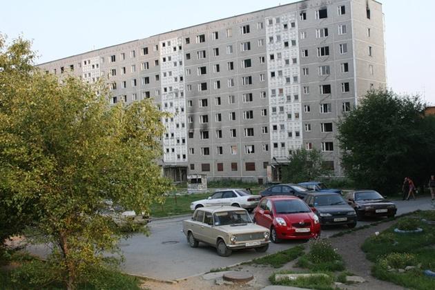 Дом на Мусоргского начали разбирать поэтажно