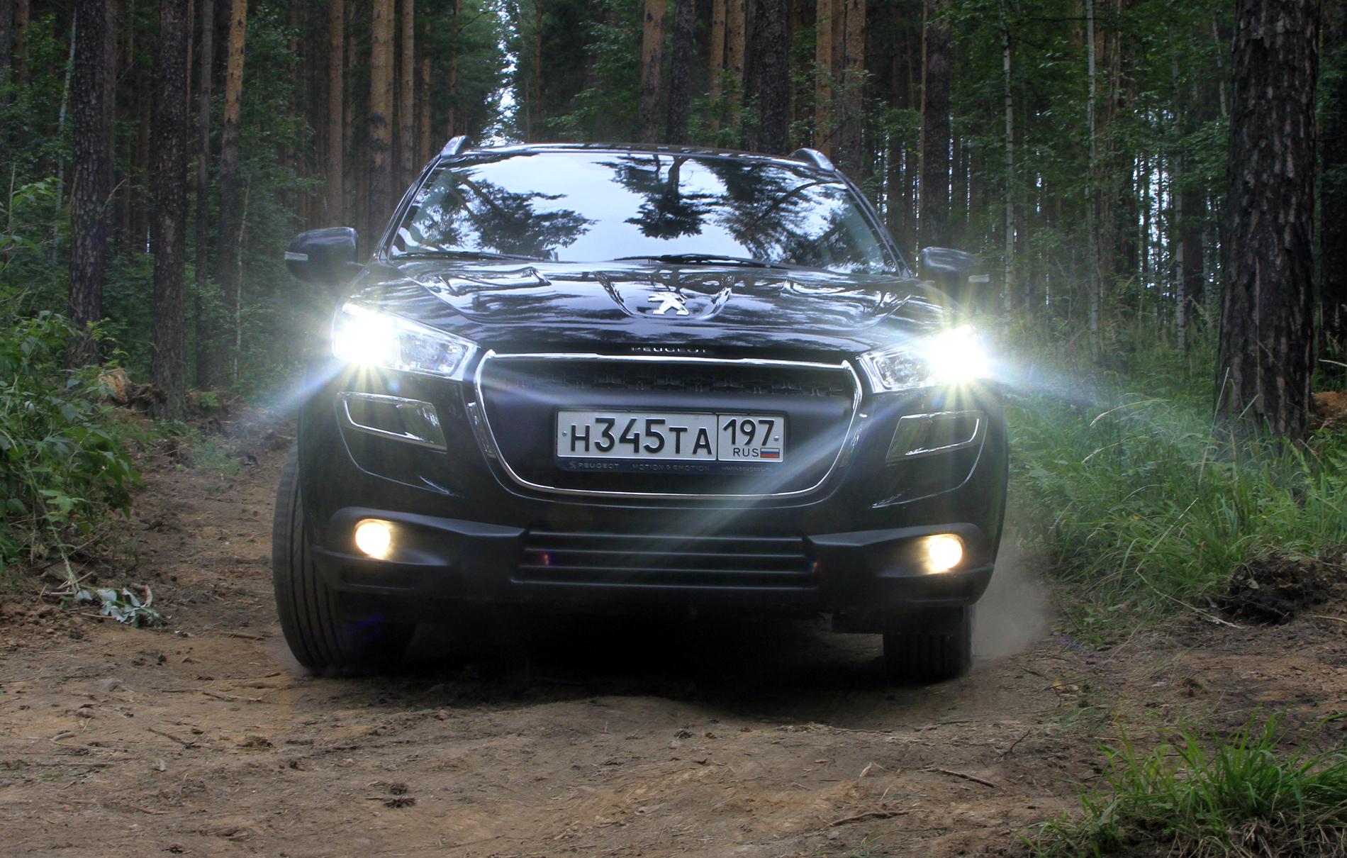 Peugeot emotion tour: львы на Лиственной