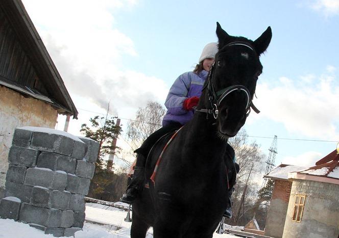 Детей с ограниченными возможностями пригласили на конную прогулку