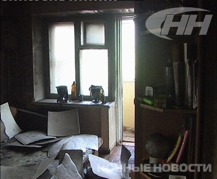При пожаре в Екатеринбурге пенсионер задохнулся в дыму