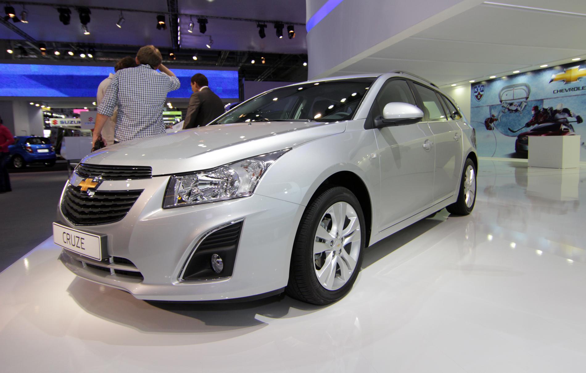 Своими глазами: универсал Chevrolet Cruze