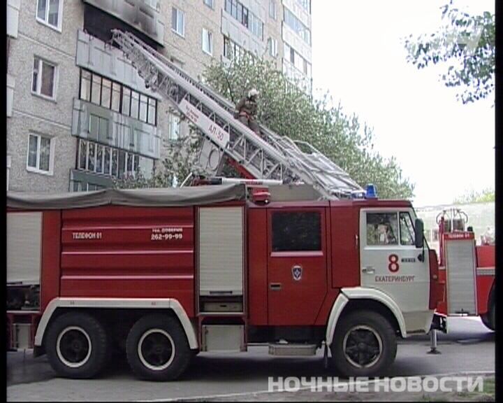 На Химмаше сгорела 2-комнатная квартира