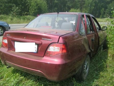 В ДТП под Екатеринбургом девушка пострадала из-за пьяного водителя