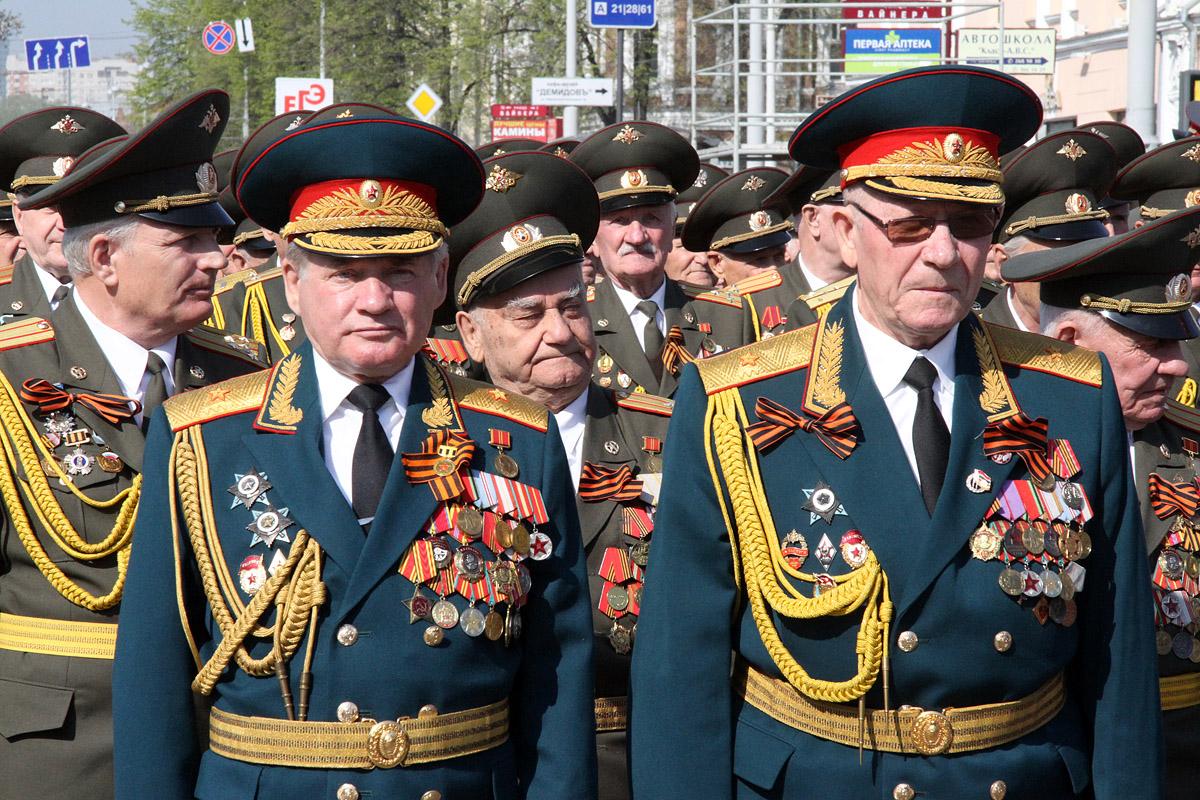 День Победы в Екатеринбурге начнут отмечать 6 мая