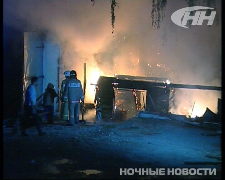 Ночью на Сибирском тракте сгорела автомойка