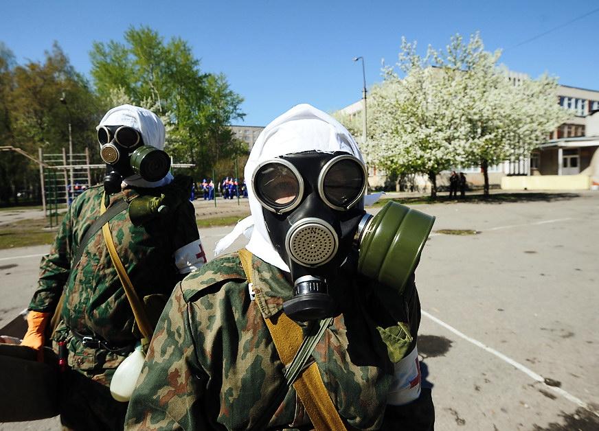 Фоторепортаж 66.ru: санитарные дружинники выяснили, кто лучше спасает людей