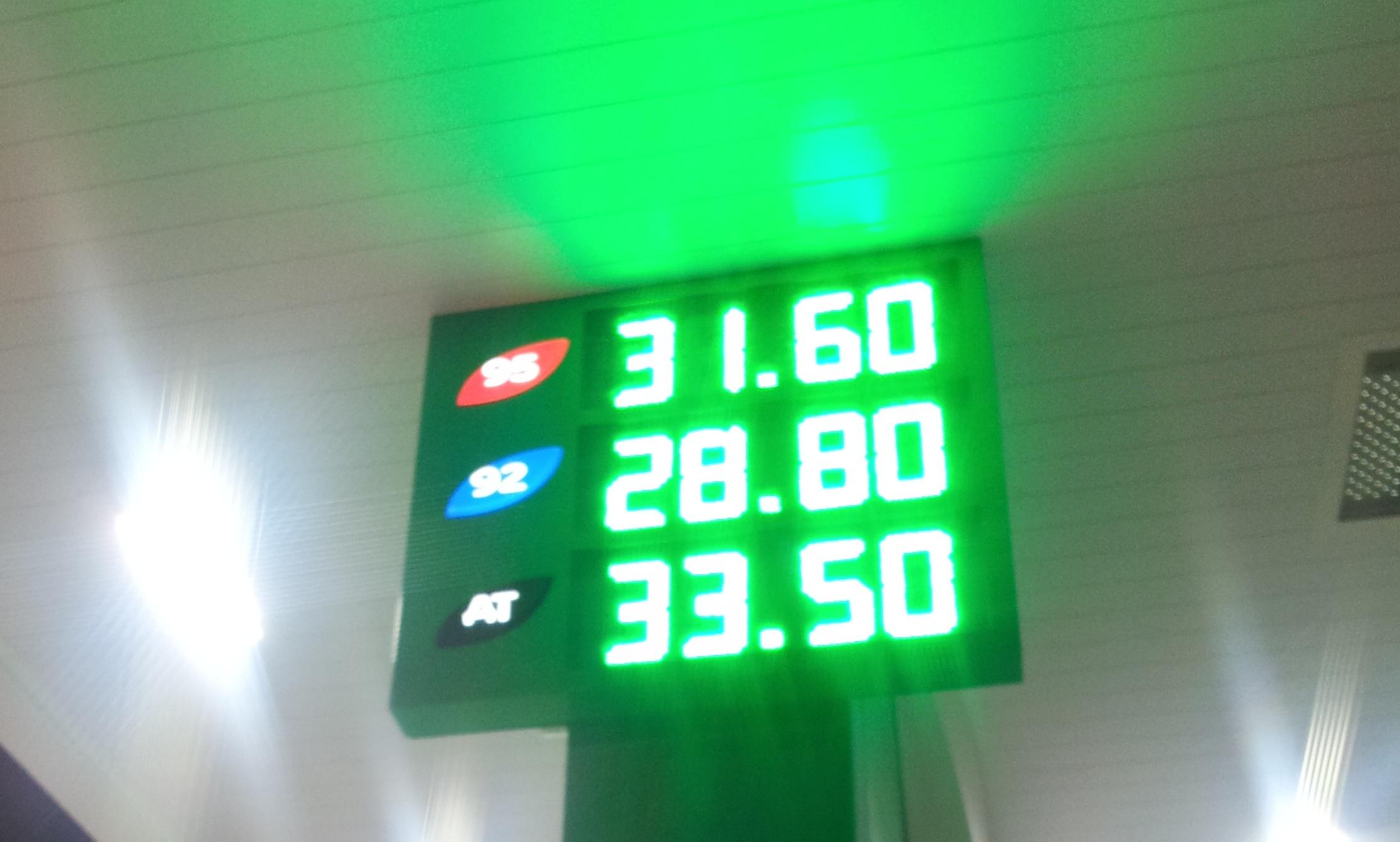 Мониторинг 66.ru: бензин снова начал дорожать
