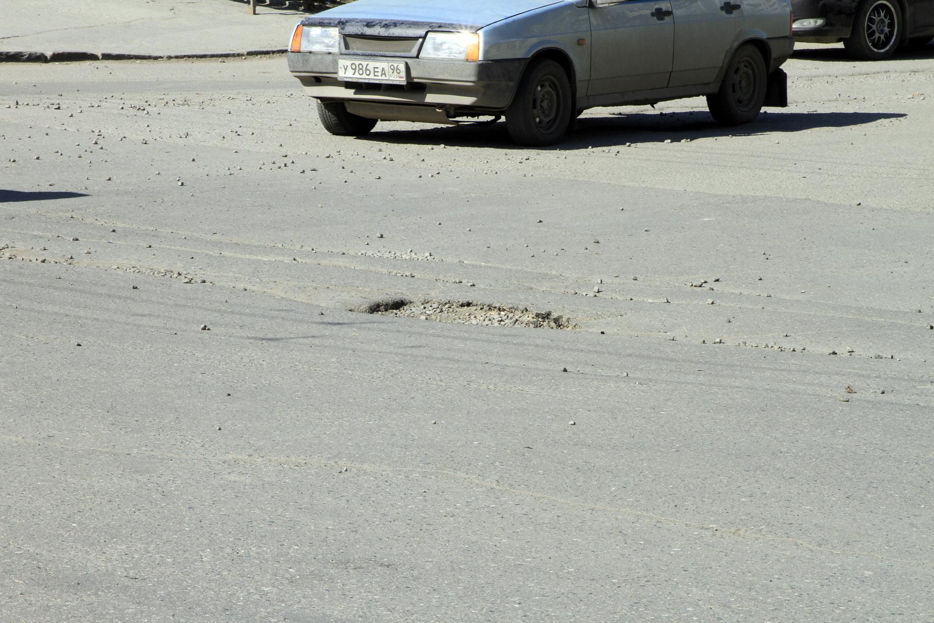 В Екатеринбурге заровняют почти на 50% больше дорог, чем обещали