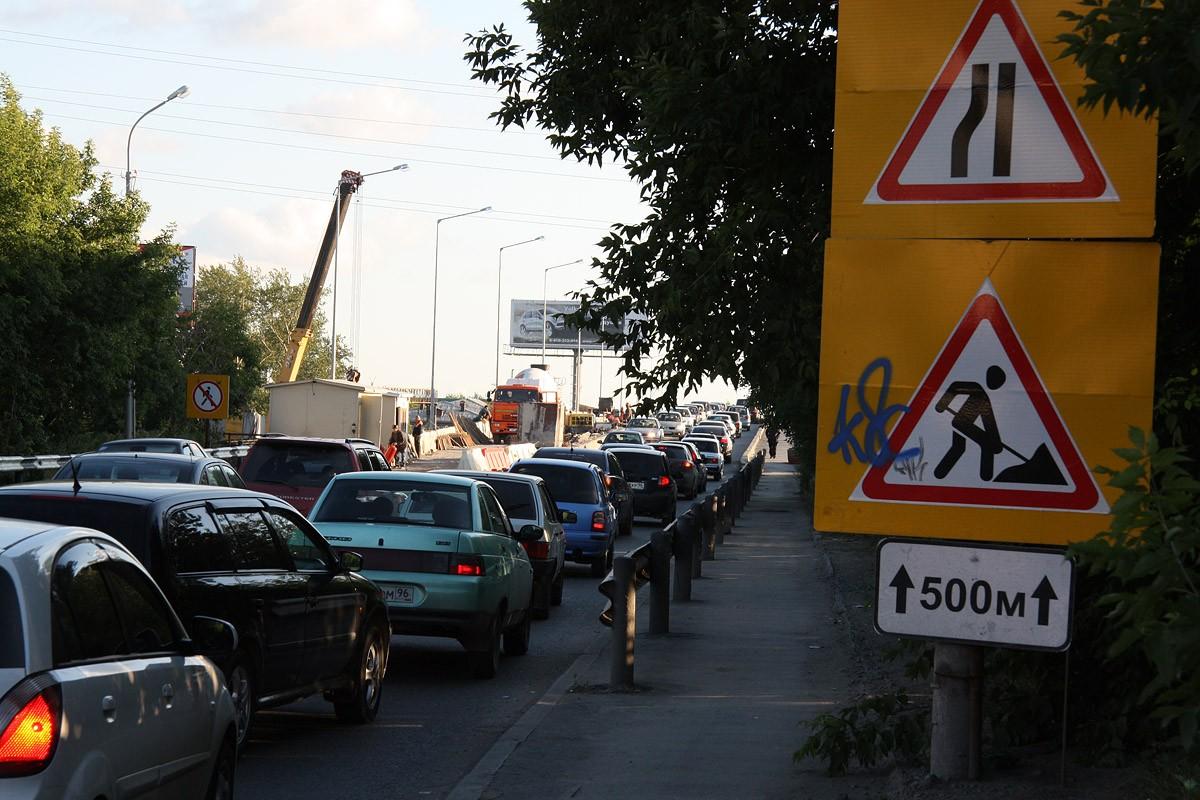 До конца августа улицу Мира будут закрывать по ночам