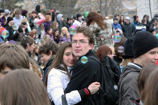 Жителей Екатеринбурга зовут на праздник мыльных пузырей