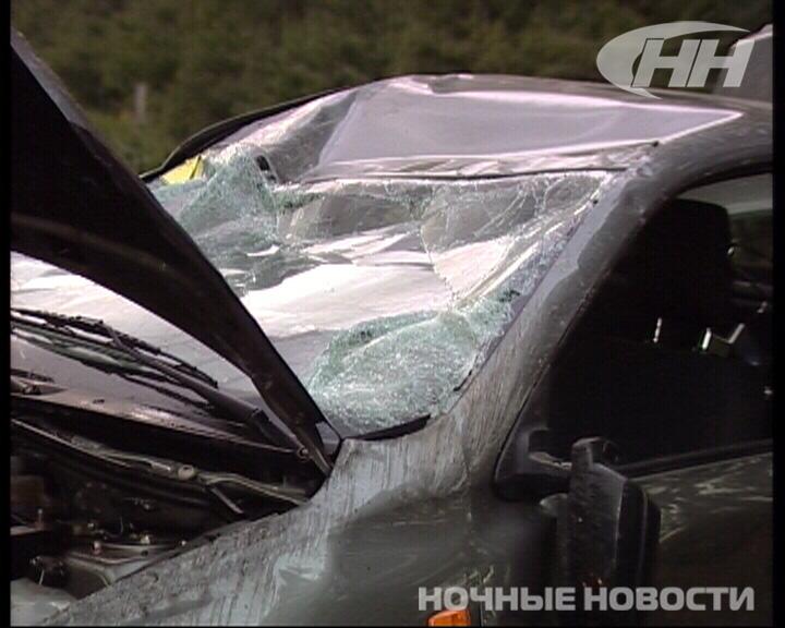 Под Екатеринбургом произошла жесткая авария двух попутных машин
