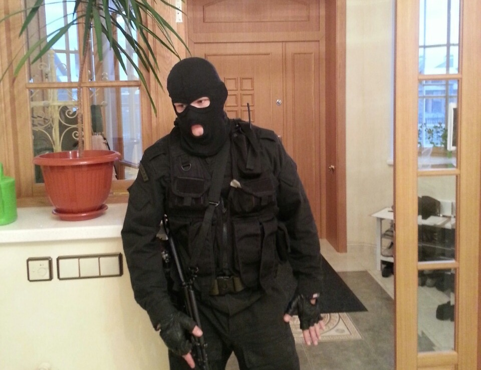 Полиция: обыски у Тунгусова не связаны с «Водоканалом»