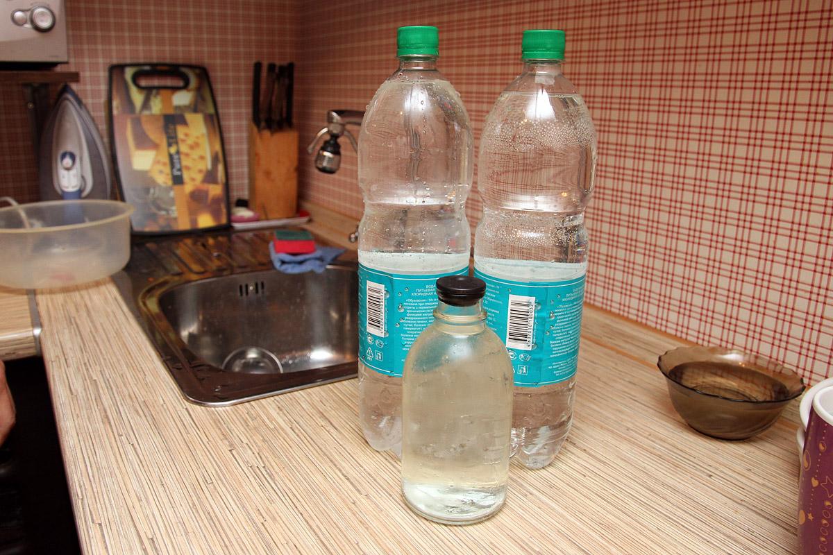 Третий пошел. Сдаем на анализ как бы питьевую воду из Краснолесья