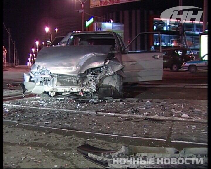 В Екатеринбурге в аварию попал водитель, лишенный прав на 108 месяцев