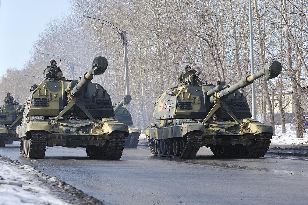 С 1 апреля по Екатеринбургу начнут ездить танки