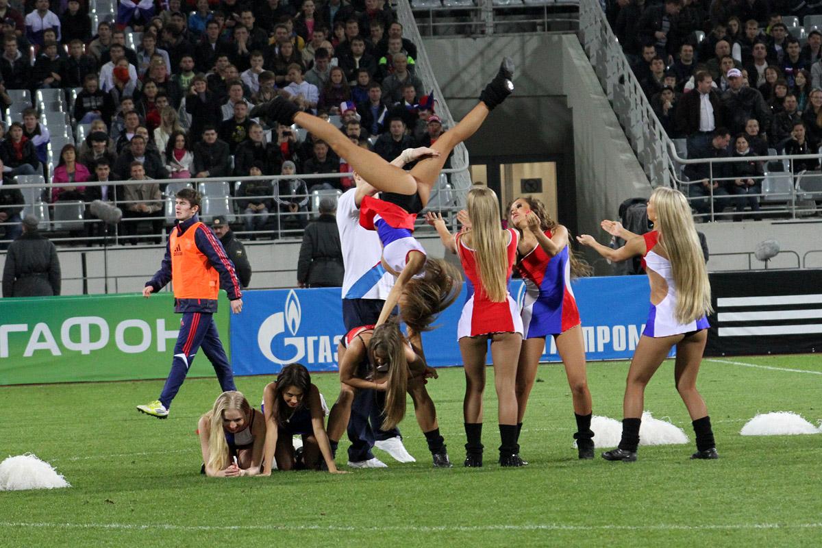 Екатеринбургские чирлидеры взяли полный комплект медалей на чемпионате России