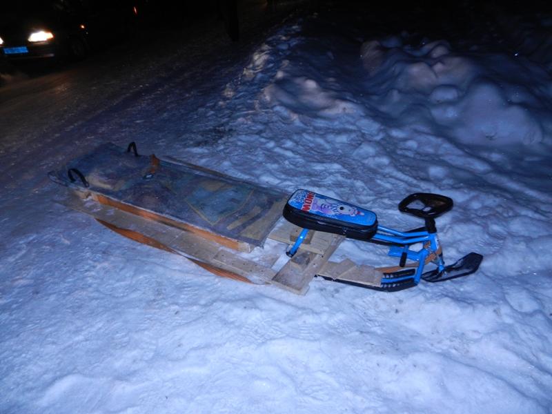 Катание на санках стало причиной ДТП в Свердловской области