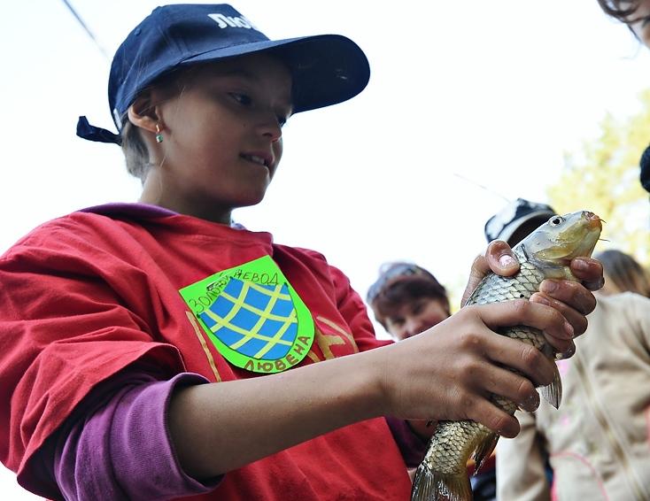 Детдомовцы из Березовского победили в «Сказочной рыбалке»