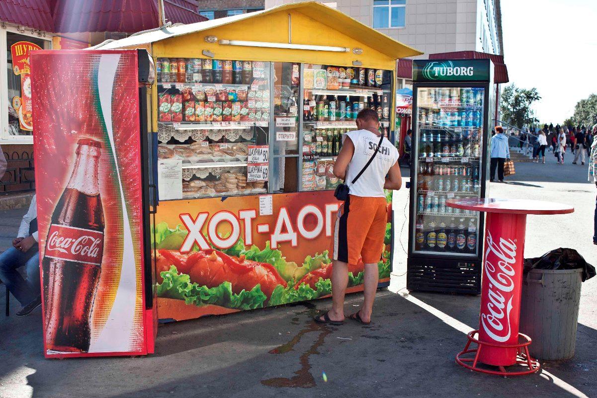 С улиц Екатеринбурга убрали еще 36 нелегальных киосков