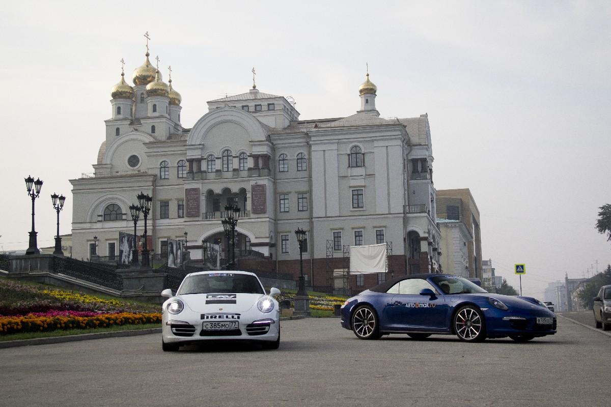 На «Каррере» по Брусянам: бьем автопробегом по юбилею Porsche 911