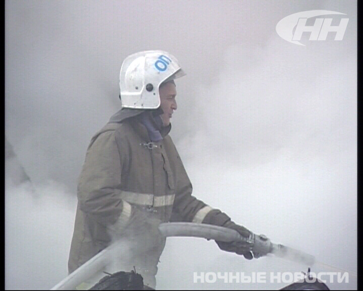 На улице Прибалтийской сгорело 4 снегохода