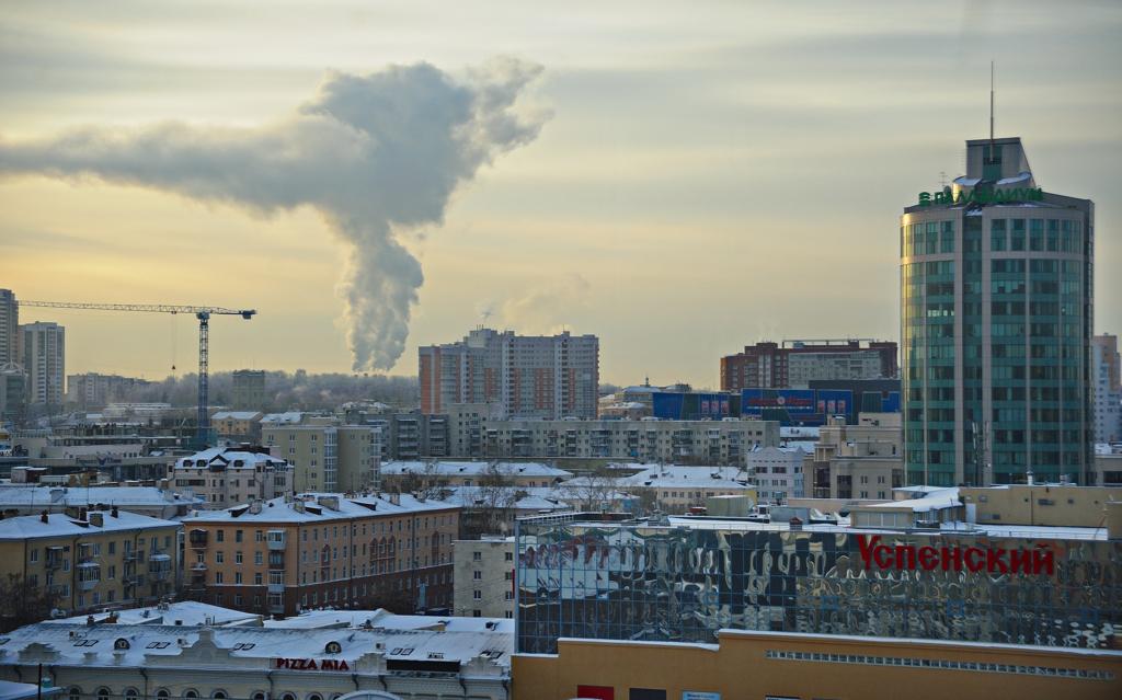 Екатеринбург выбился в лидеры по строительству