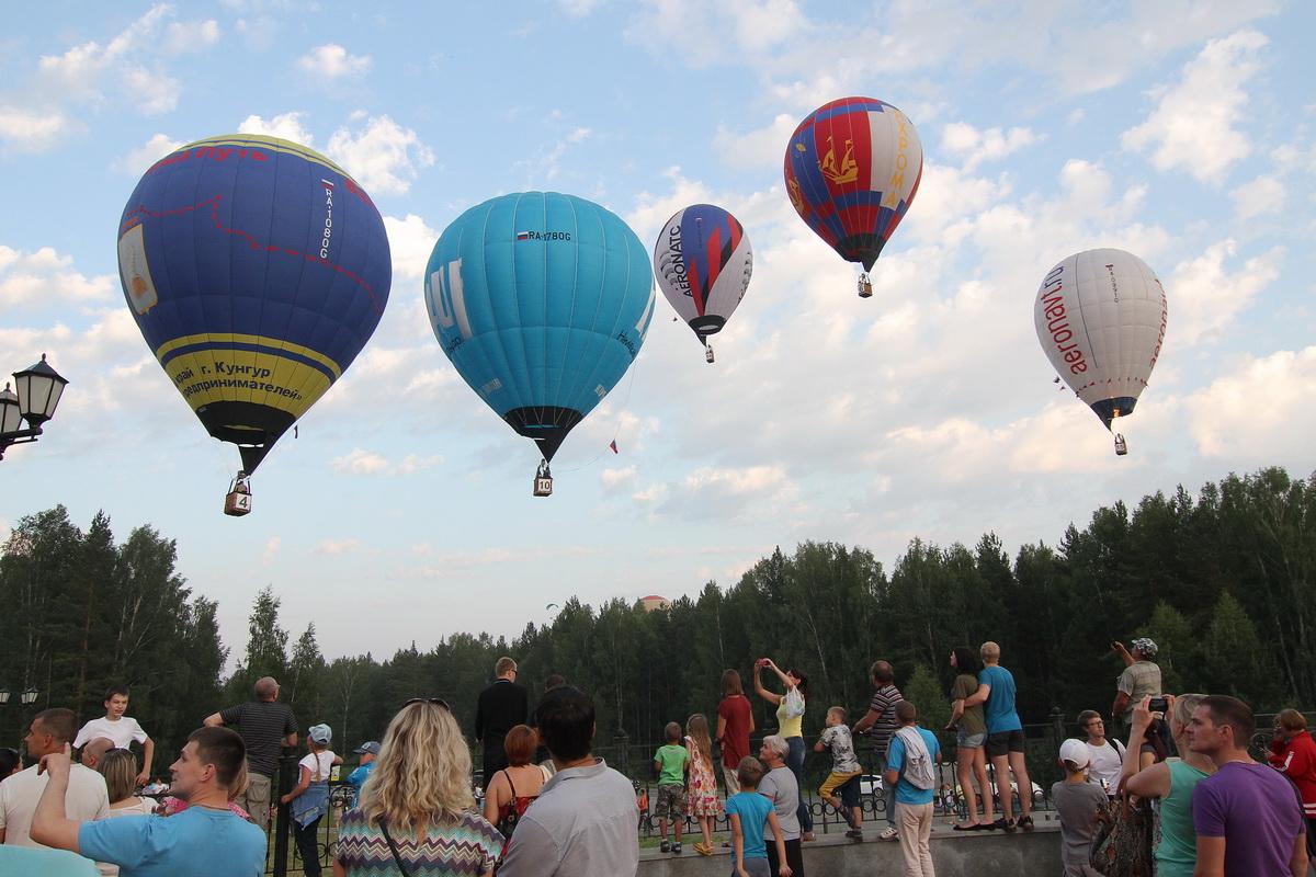 Фестиваль воздухоплавания в Каменске ужался из-за непогоды