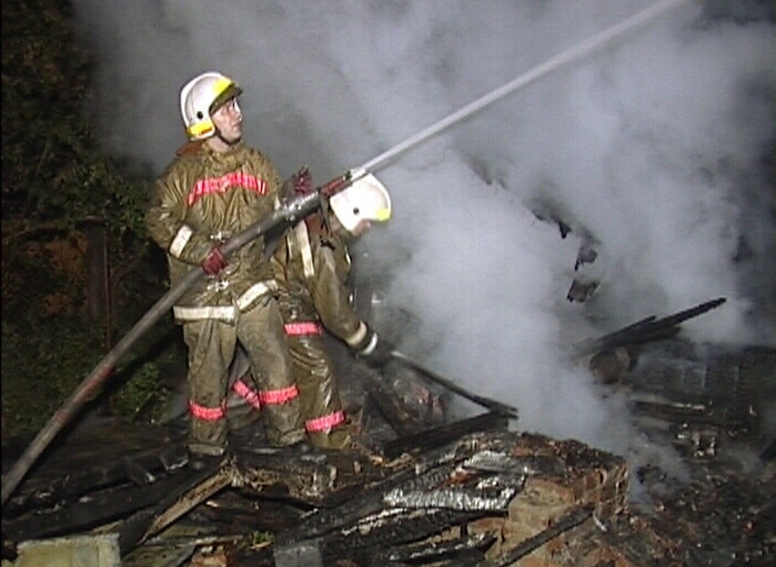 В выходные горел коллективный сад «Уралец»