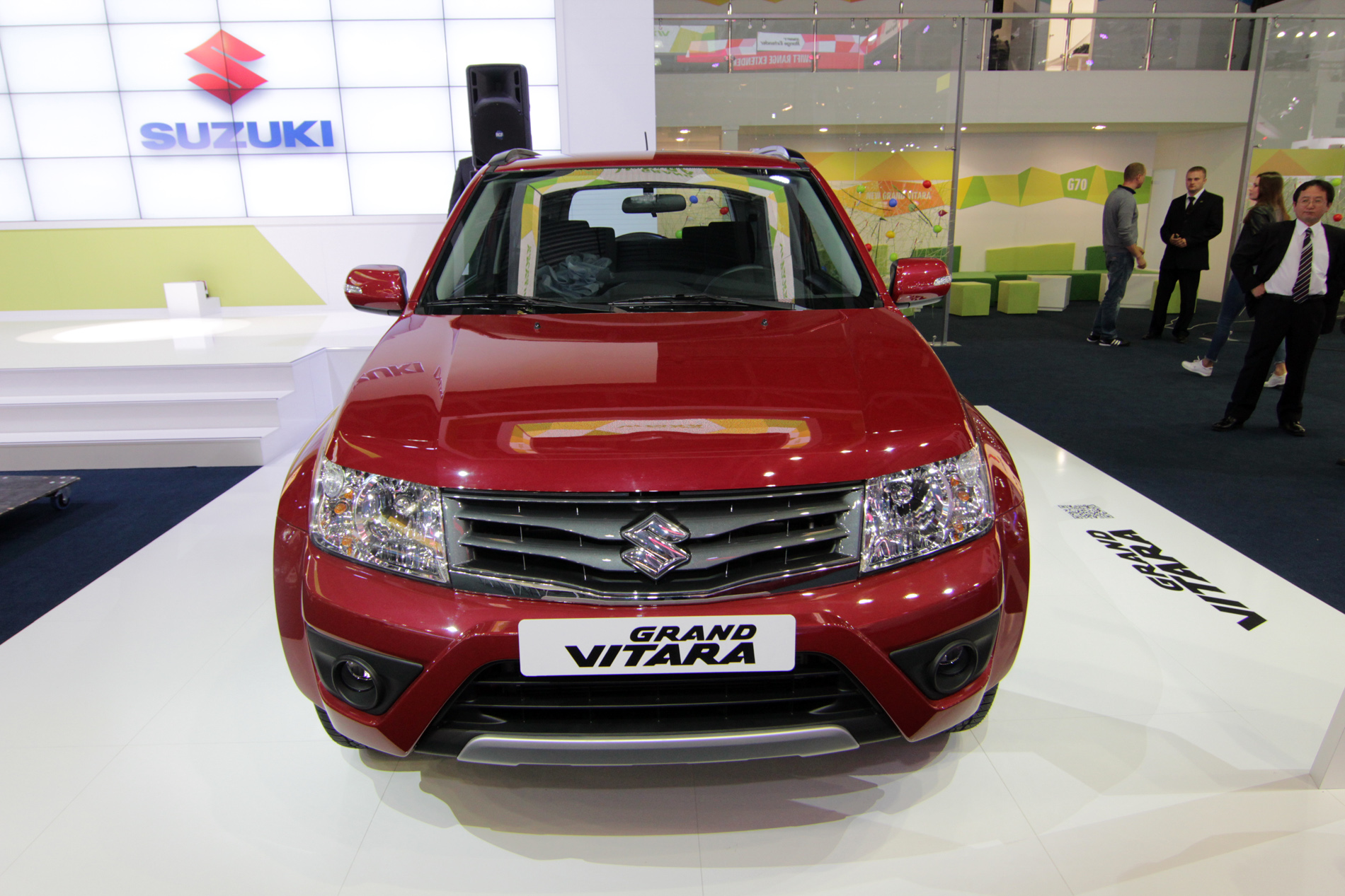 Suzuki показала как бы новую Grand Vitara
