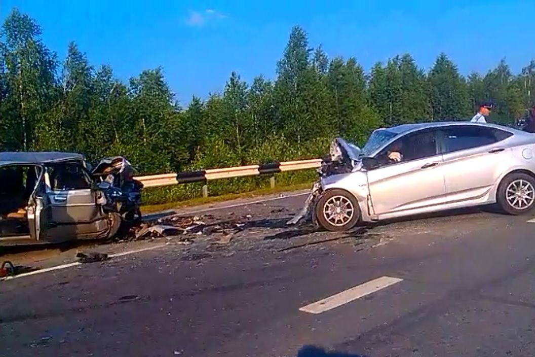 В аварии на Серовском тракте погибли три человека