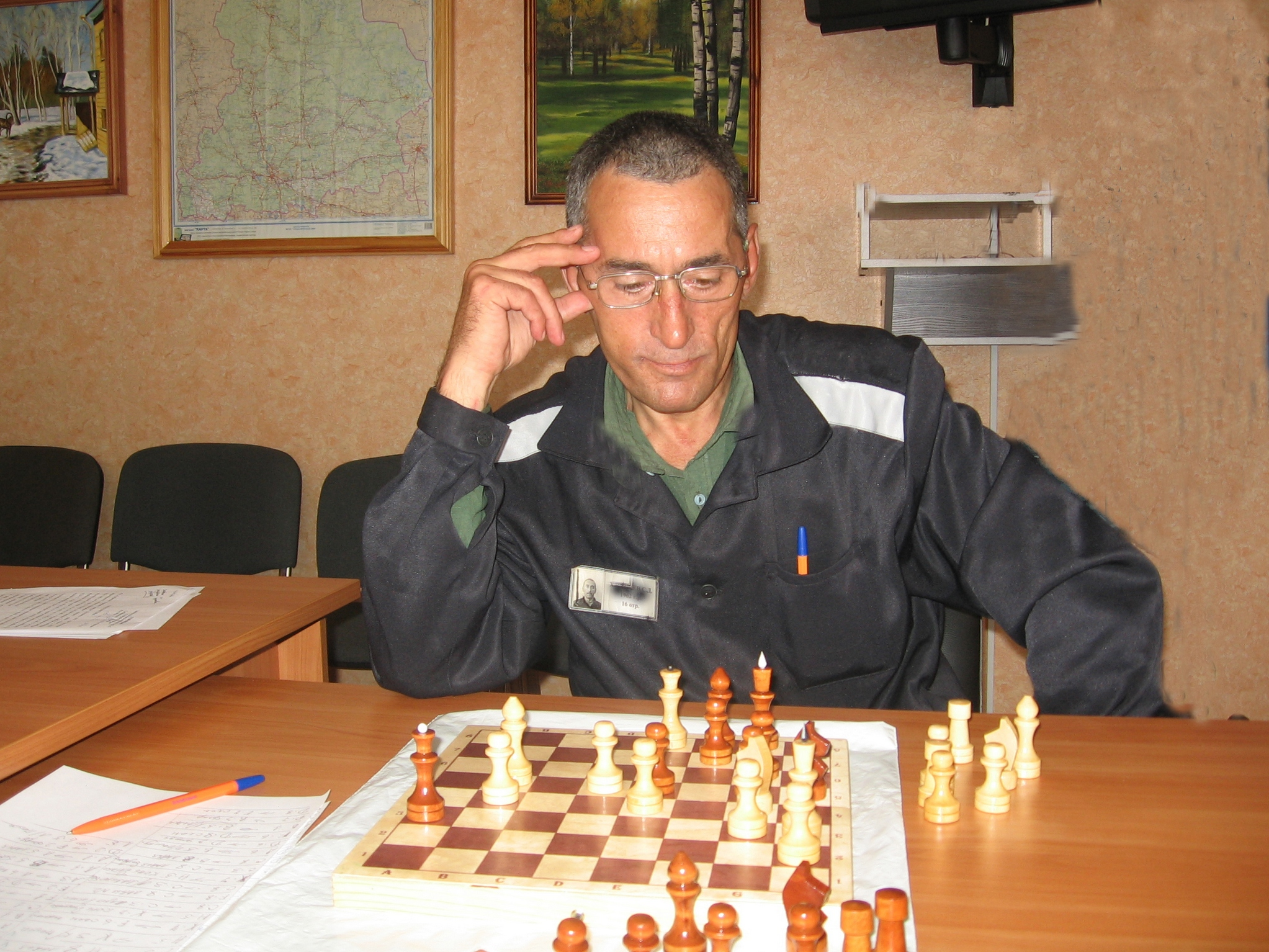 Свердловские заключенные сыграют в шахматы с «коллегами» из Чикаго