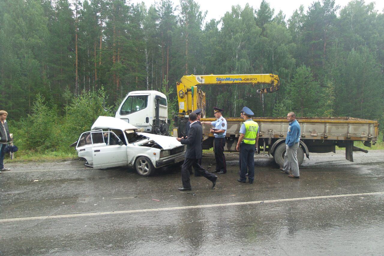 Смертельное ДТП под Сысертью произошло из-за плохой дороги
