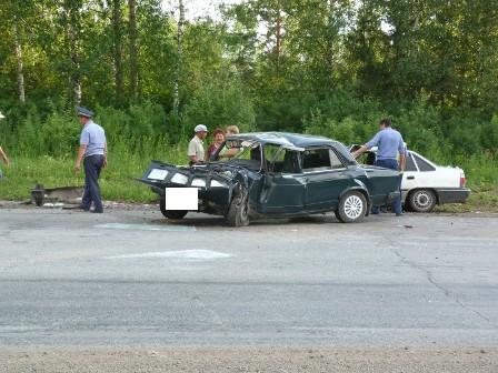 В ДТП под Красноуфимском пострадали три человека