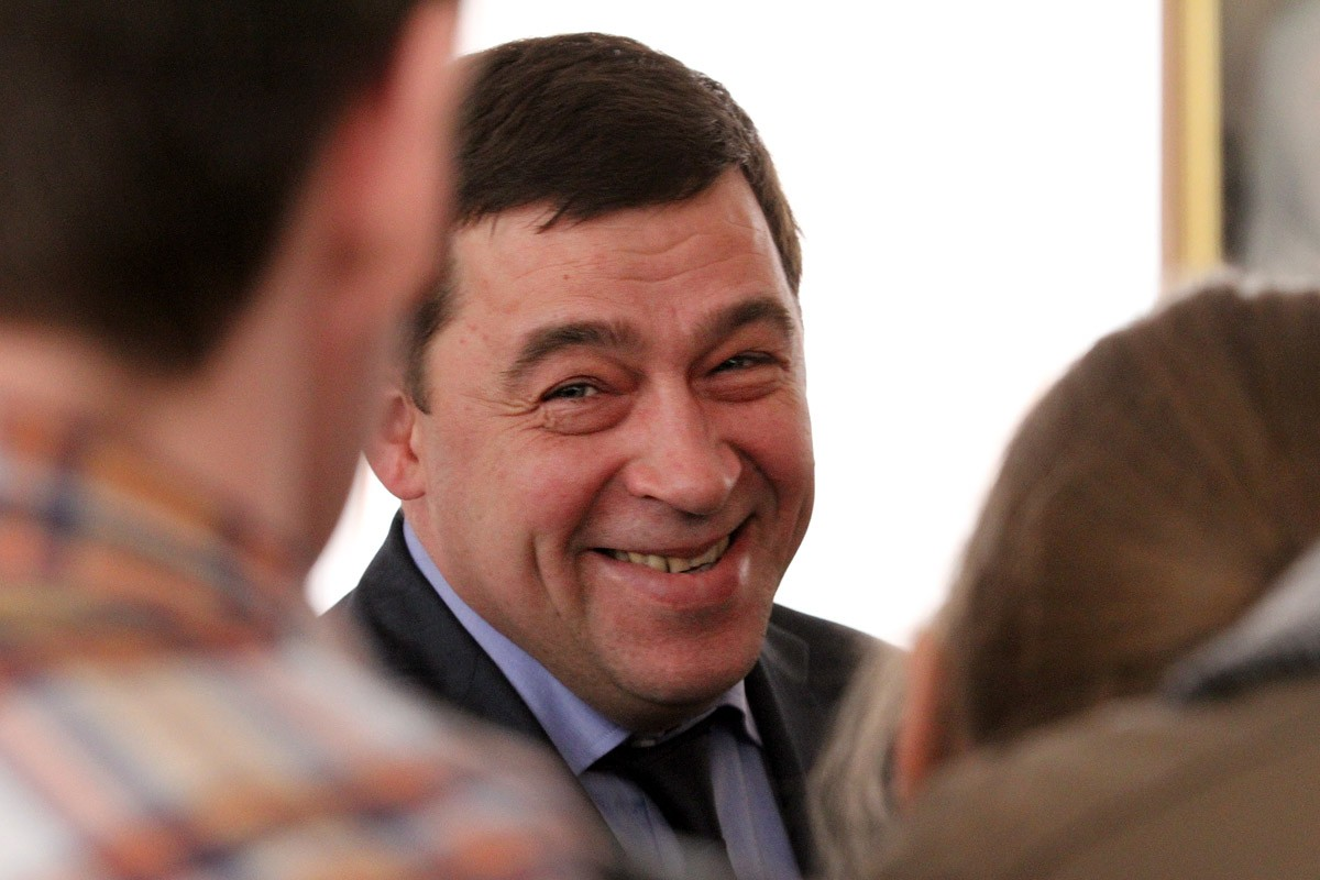 Евгений Куйвашев решил проблему имиджа Свердловской области
