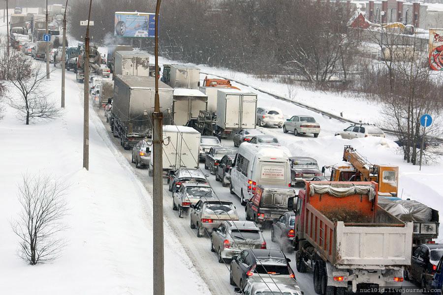 МЧС просит свердловских водителей быть осторожными