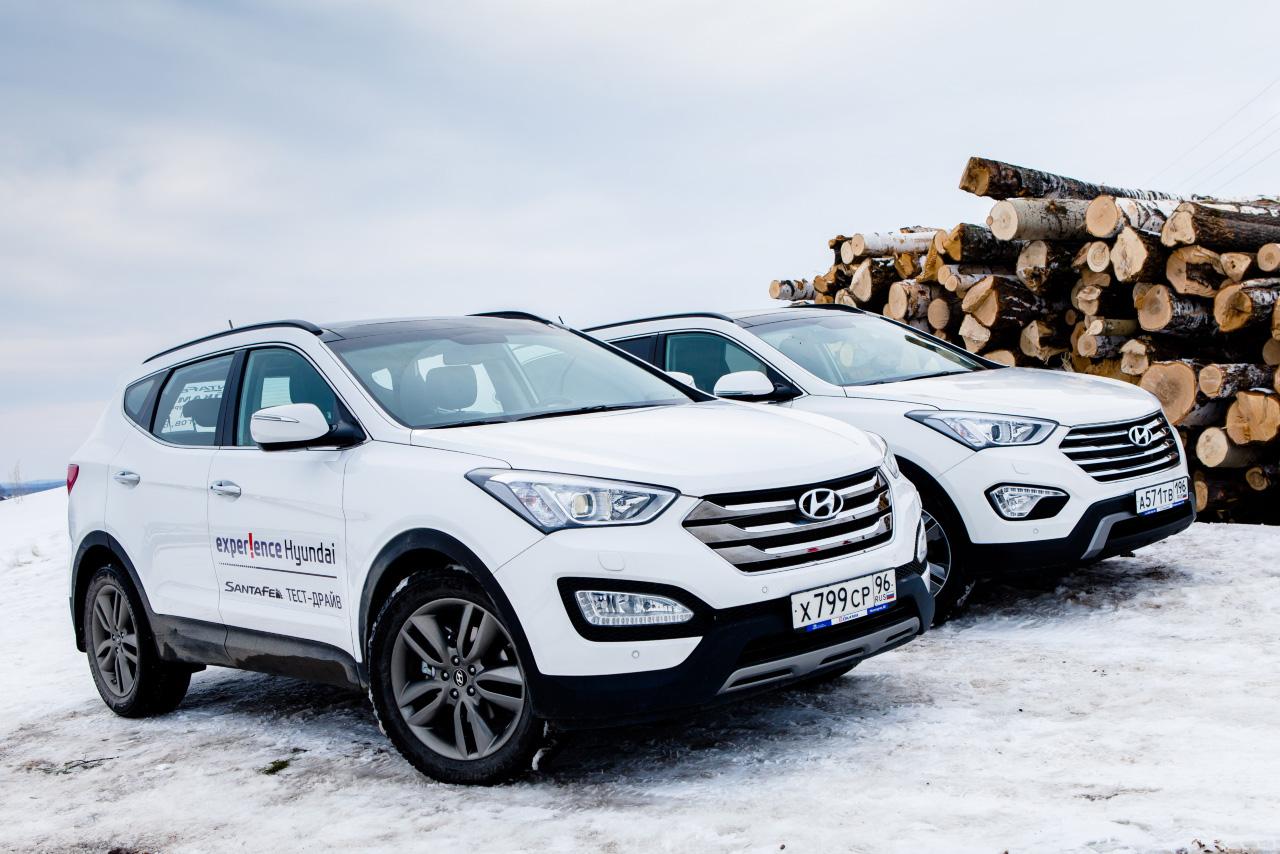 Одинаковых с лица: сравниваем Hyundai Santa Fe — Grand и не очень