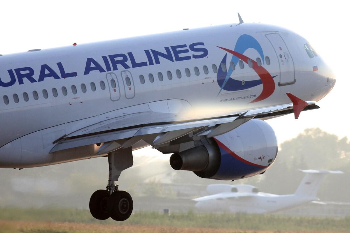 Самолет «Уральских авиалиний» совершил вынужденную посадку в Праге