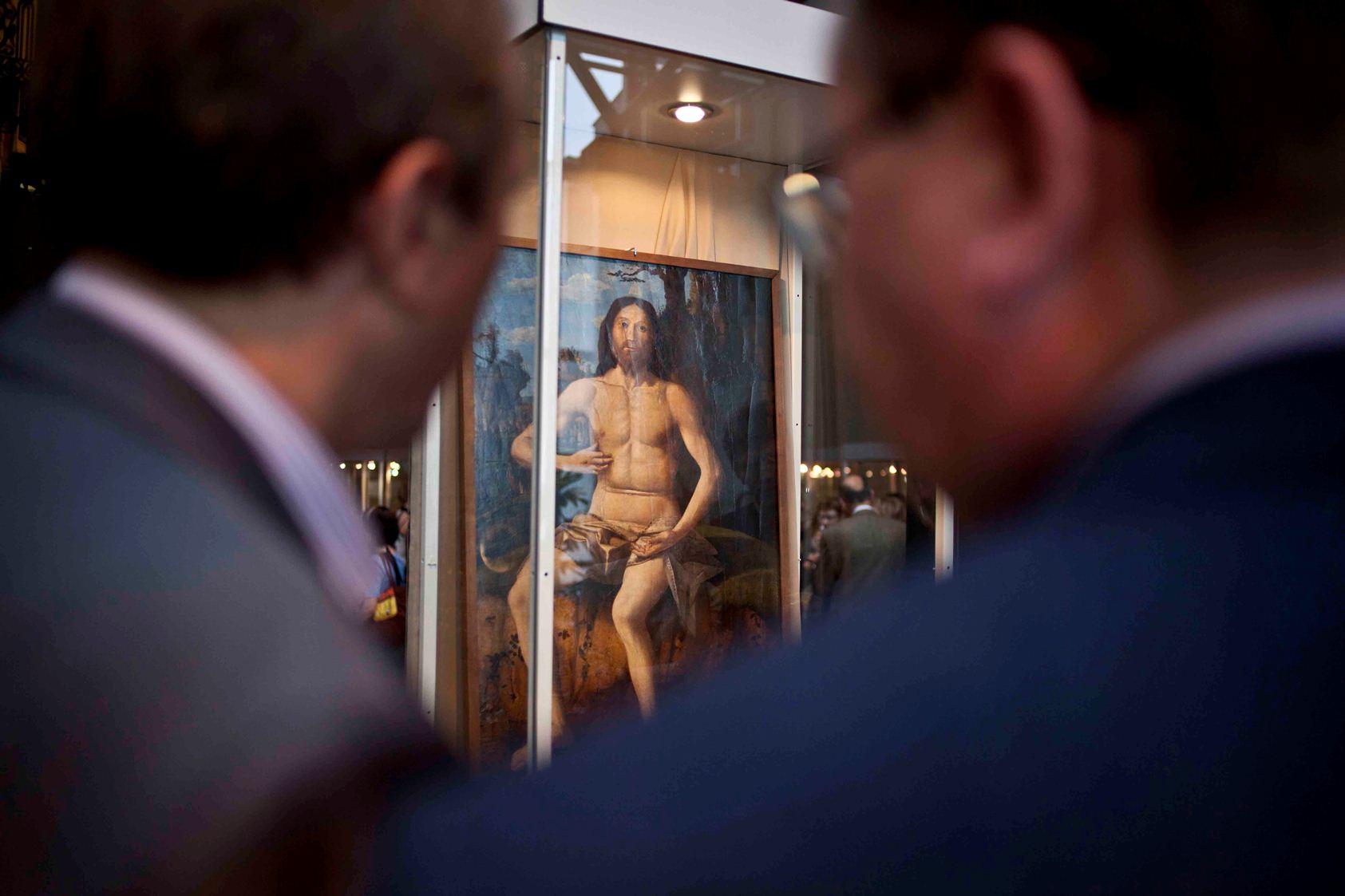 «Христос» Марко Базаити вернулся в постоянную экспозицию Музея ИЗО