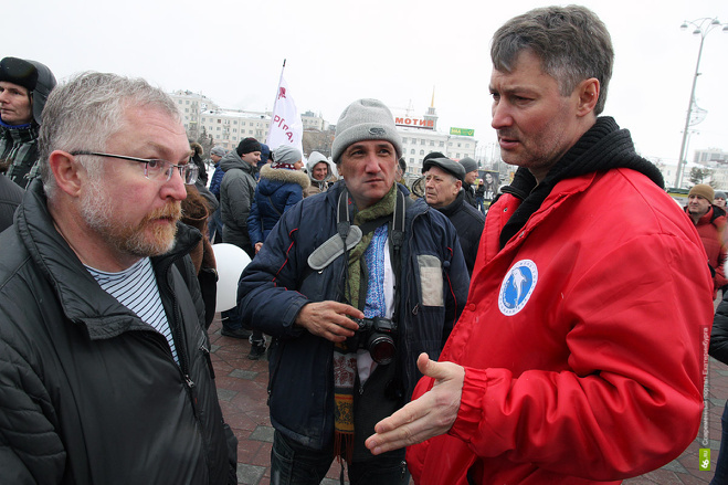 Евгений Ройзман про Крым: «Я против любой войны и за свободу слова»