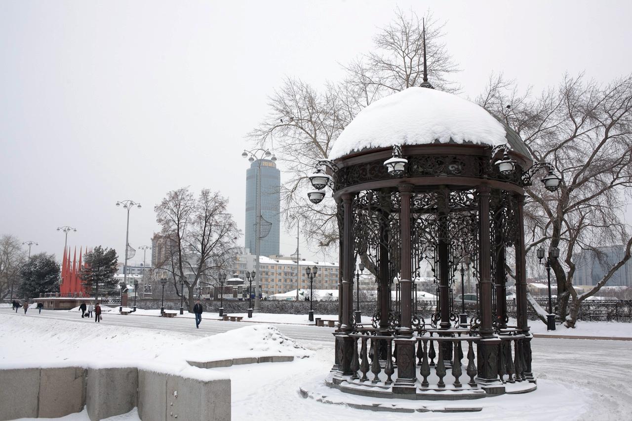 Фоторепортаж 66.ru: первый зимний день весны