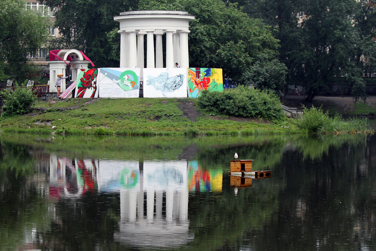 Харитоновский парк обновят на 1,4 млн рублей