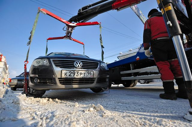 Мэрия грозится эвакуировать все машины из центра в день паралимпийской эстафеты