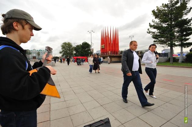 Спектор предложил перенести Краснознаменную группу к памятнику Ленина