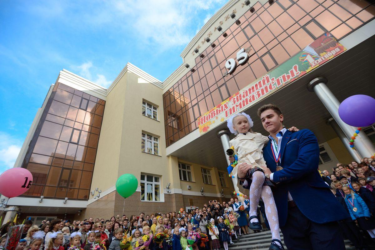 Онлайн-репортаж 66.ru: Екатеринбург идет в школу
