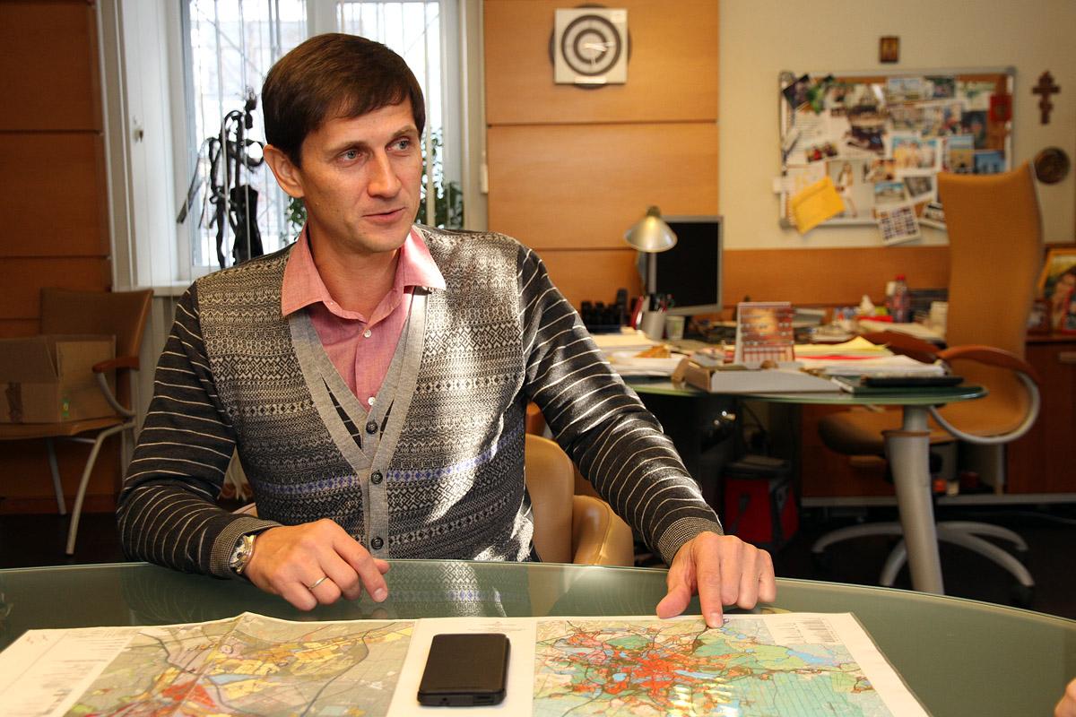 Николай Савин: «Центр города — это дорого и неудобно»